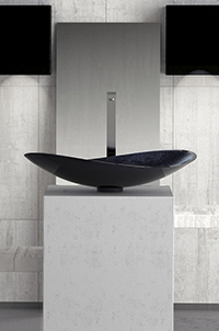 Lavabo Infinity di Glass Design